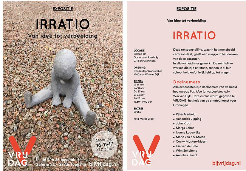 Irratio - Expositie in de expositieruimte van Y2