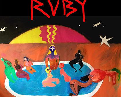 """""""RUBY' met werk van Ruben van der Linden (sept 2018)"""